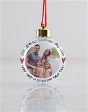 Personalised In Our Home Baubles