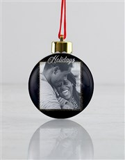 Personalised Merry Always Baubles