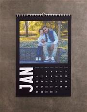 Personalised Minimalist Photo Wall Calendar