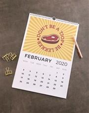 Personalised Love SA Wall Calendar