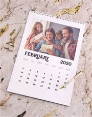 Personalised Family Deco Wall Calendar