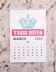 Personalised Feminista Wall Calendar