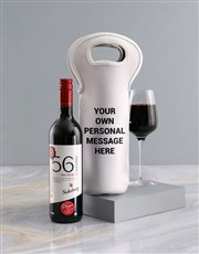 Personalised Message Wine Carrier