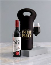 Personalised Party Wine Carrier
