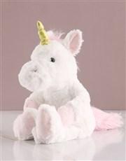 Personalised Unicorn Teddy Chocolate Tin