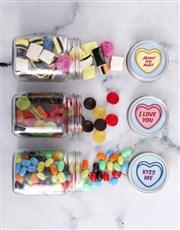 Personalised Romance Sweetie Jar