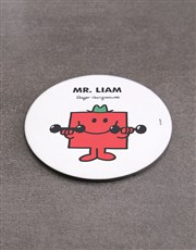 Personalised Mister Strong Mug And Coaster