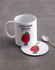 Personalised Little Scatterbrain Mug And Coaster