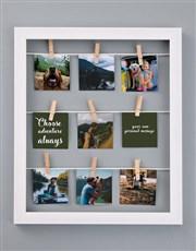 Personalised Adventure Peg Frame