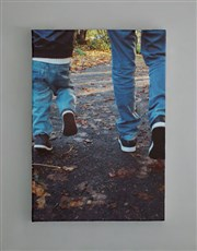 Personalised Large Canvas Set Of Four
