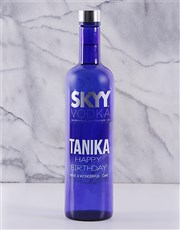 Personalised SKYY Vodka