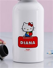 Personalised Hello Kitty Water Bottle