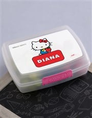 Personalised Hello Kitty Lunchbox
