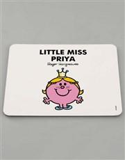 Personalised Miss Princess Dinner Set