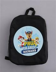 Personalised Paw Patrol Pups Backpack