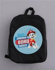 Personalised Born Brave Backpack