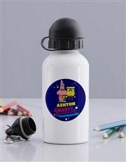 Personalised SquarePants Water Bottle