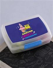 Personalised SquarePants Lunchbox