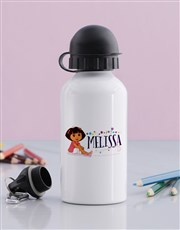 Personalised Dora Water Bottle