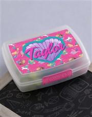 Personalised Barbie Friends Lunchbox