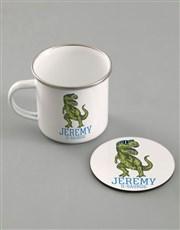 Personalised Dino Kids Kitchen Set