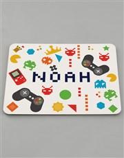 Personalised Gamer Kids Kitchen Set