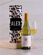 Personalised Print Wine Tube