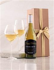 Personalised Gold Happy Birthday Giftbox