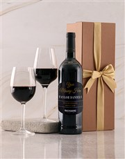 Personalised Gold Backsberg Giftbox
