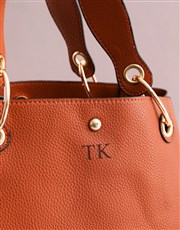 Personalised Tan Bag