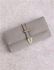 Personalised Grey Long Purse
