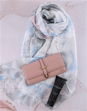 Personalised Pink Long Purse