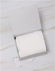 Personalised Rabbit Keepsake Box With Blanket