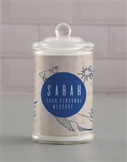 Personalised Sea Shell Candle Jar