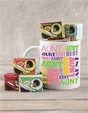 Spoil the best auntie with the best gift! A mug is