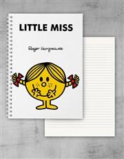 Personalised Little Miss Sunshine Notebook