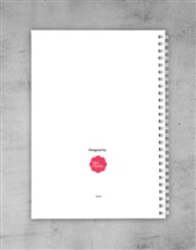 Personalised Little Miss Naughty Notebook
