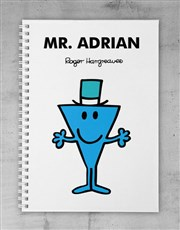 Personalised Mr Cool Notebook