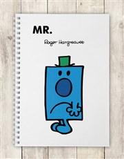Personalised Mr Grumpy Notebook