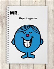 Personalised Mr Perfect Notebook