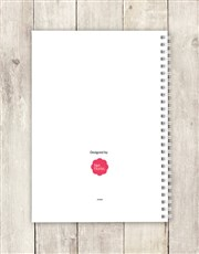 Personalised Mr Lazy Notebook