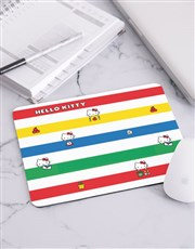 Personalised Colourful Hello Kitty Mousepad