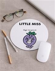 Personalised Little Miss Purple Mousepad