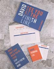 Personalised Running Goal Planner Set