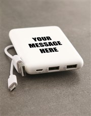 Personalised Message Romoss Power Bank