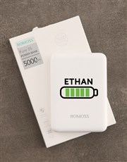 Personalised Battery Romoss Power Bank