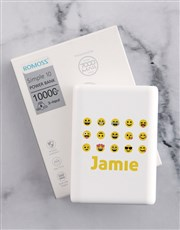 Personalised Emoji Romoss Power Bank