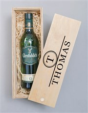 Personalised Glenfiddich Monogram Crate