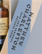 Personalised The Singleton Wooden Crate
