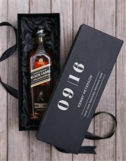 Personalised Johnnie Walker Red Label Giftbox